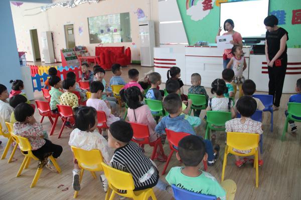 白银幼儿园开展主题课程 教小娃娃们学消防常识