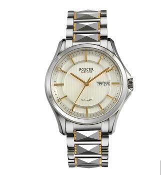 首页 一线品牌 保时捷 钢带男士手表全自动机械表商务男表商务休闲